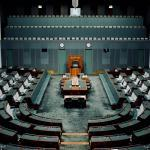 Parliament House interior empty
