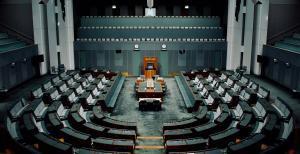 Parliament House interior empty