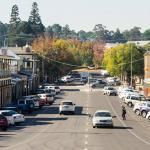 Photo of regional Australia Town centre street