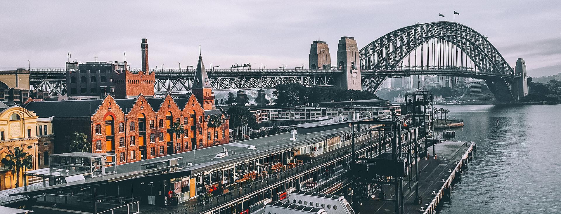 Sydney Harbour Bridge and Rocks